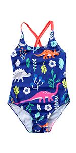 baby cartoon onepiece swimsuit