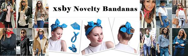 xsby Novelty  Paisley Bandanas