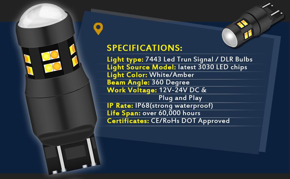 7443 Switchback LED