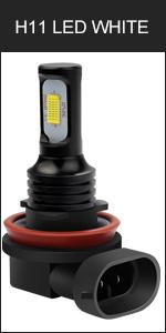 H11 H9 H8 LED fog light bulb