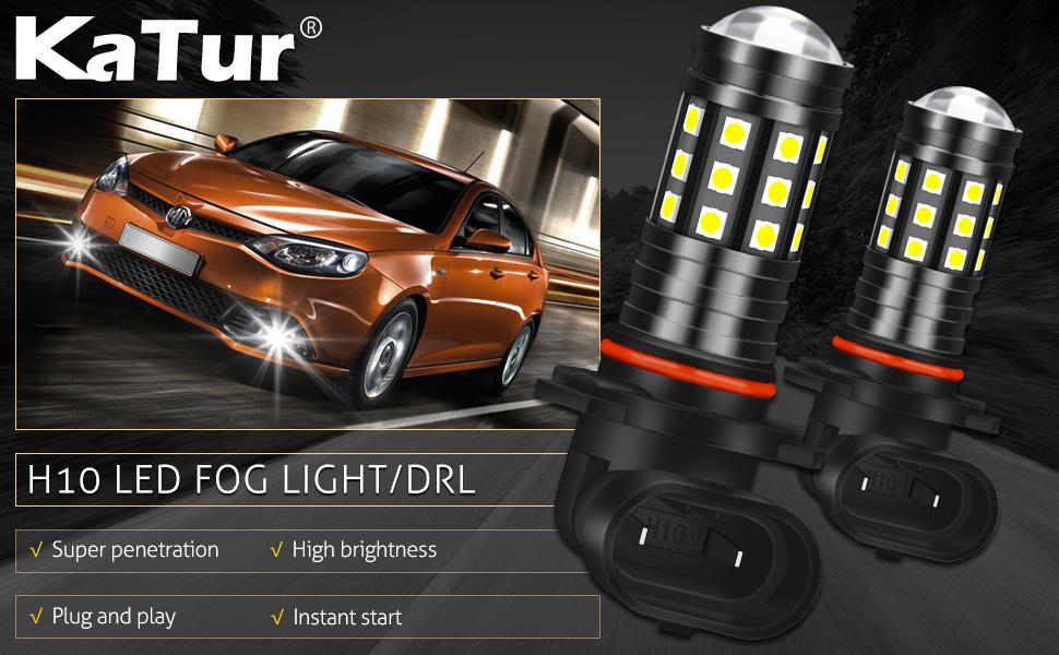 9145 9140 H10 LED Fog Light & DRL