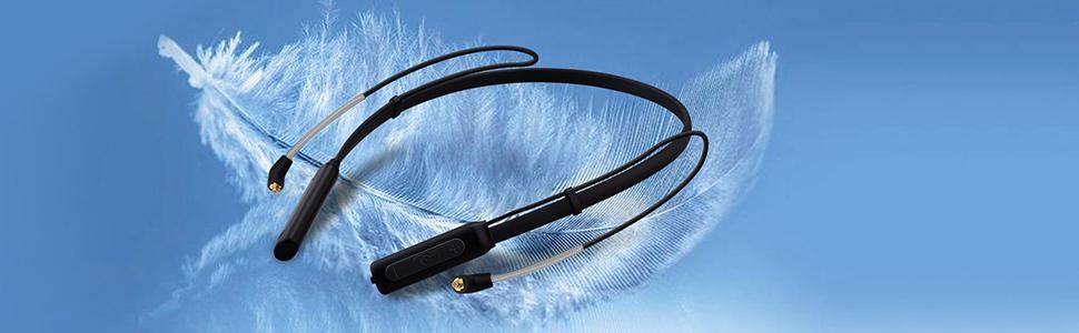 BASN Bluetooth Neckband Headphones