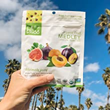 medley fruit healthy gluten-free organic