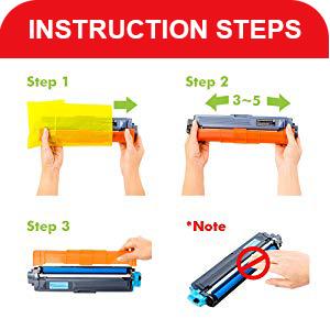 instruction steps