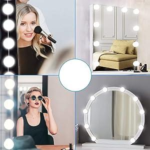 led lights for mirror