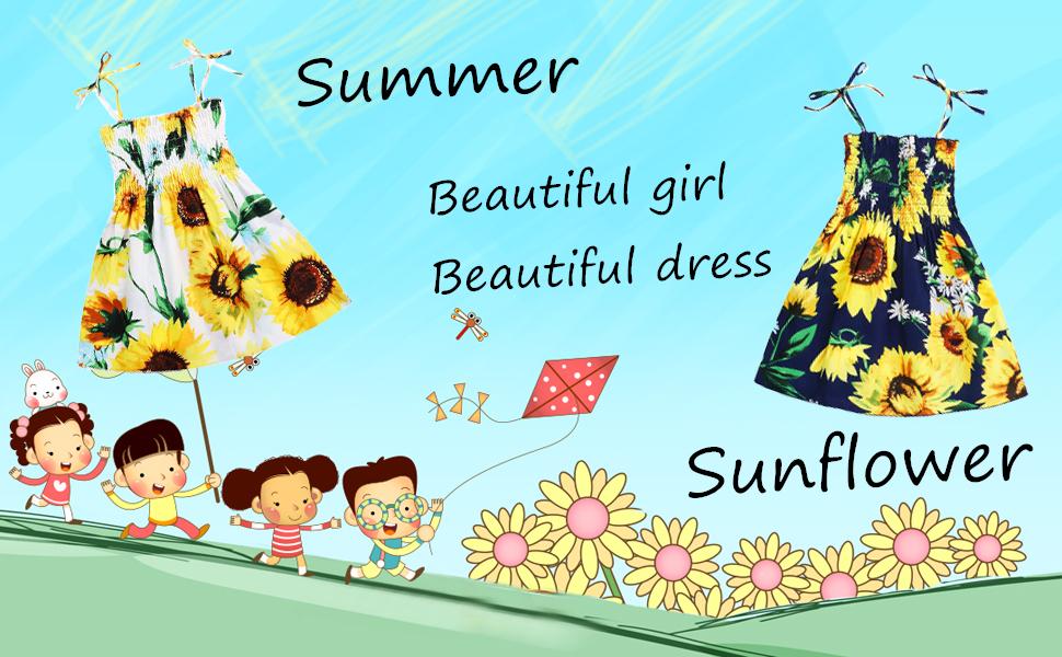 baby girl summer sleeveless dress