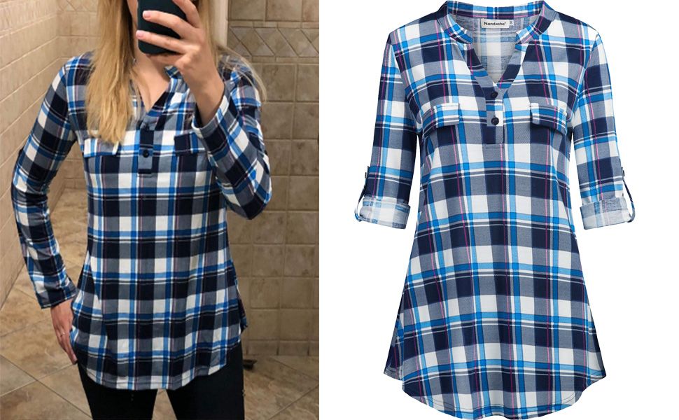 plaid shirts for women