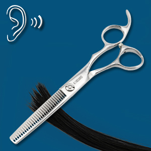 Cutting hair smoothly