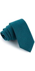 cashmere teal tie