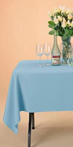 tablecloth polyester table cloth rectangle white table cover square round black tablecloth purple
