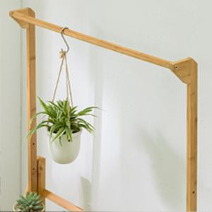 3 tiers plant shelves