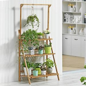 3 tiers hanging flower shelf