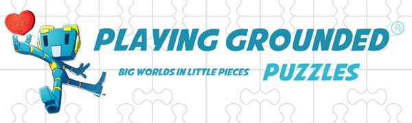 Jigsaw Puzzle, Playing Grounded, Anime Puzzle, Fantasy Puzzle, 1000 Piece Puzzle, Puzzles for Adults