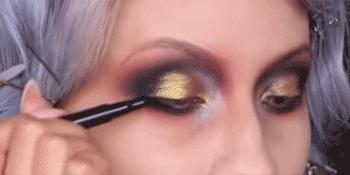 Skone liquid eyeliner waterproof smudge proof