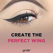 waterproof liquid eyeliner black brown skone women animal testing professional smudge-proof