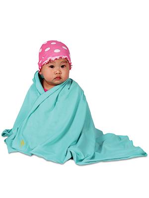 nozone sun protective bamboo baby blanket scarf upf 50+