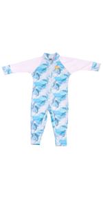 nozone baby upf sun romper body suit onesie uv