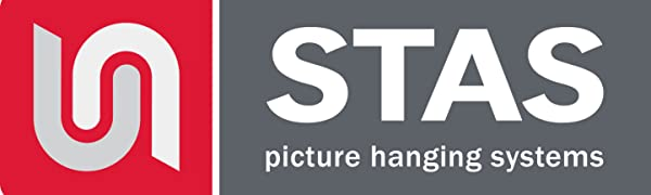 STAS picture hanging systems, picture hanging, picture rail, art hanging, hanging paintings