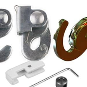STAS j-rail max, STAS picture hanging systems, hooks