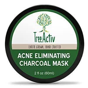TreeActiv Acne Eliminating Charcoal Mask