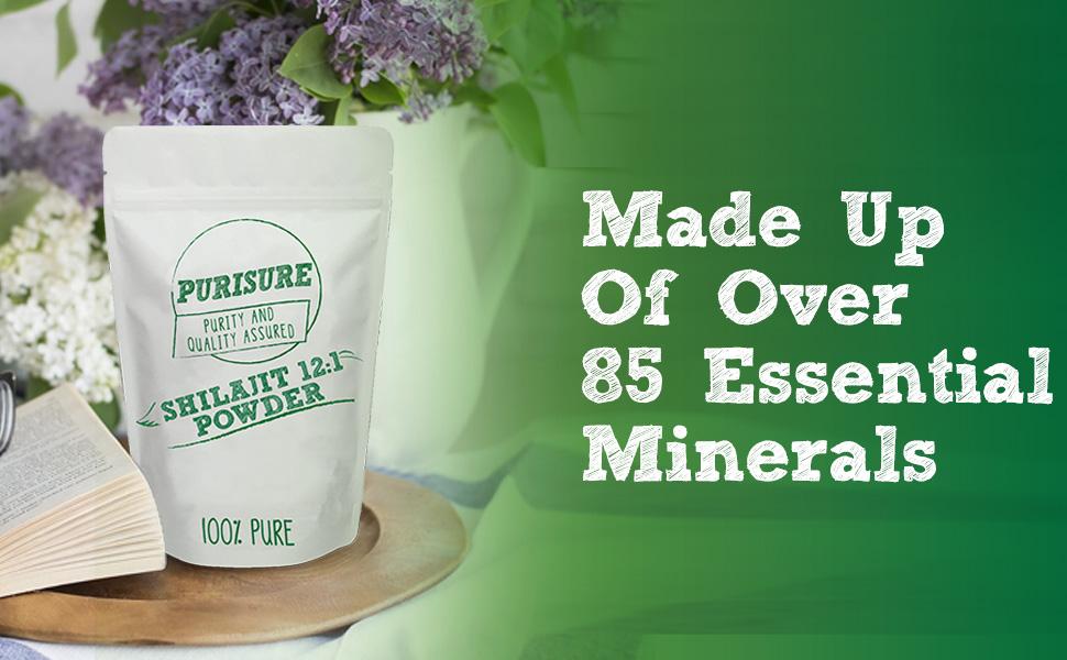 Purisure shilajit powder 12:1 100% Pure