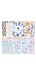clever fox planner stickers