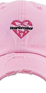 HEARTBREAKER EMBROIDERY VINTAGE DAD HAT