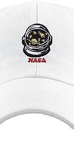 NASA ASTRONAUT EMPROIDERY DAD HAT
