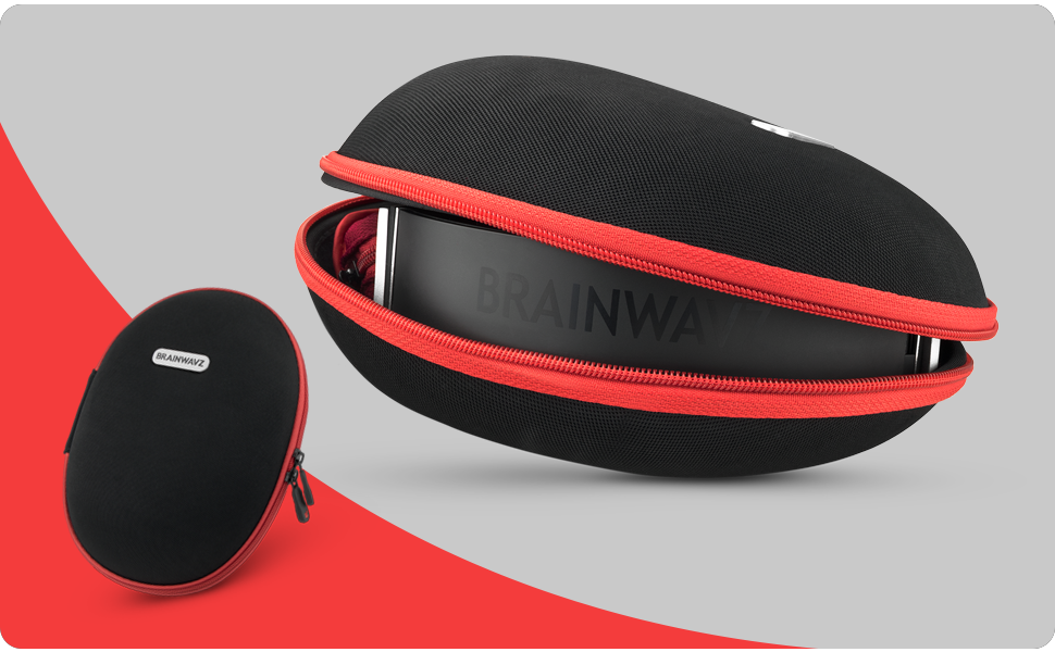 Brainwavz headphones hardcase shure bests sennheiser earphones portable carrycase