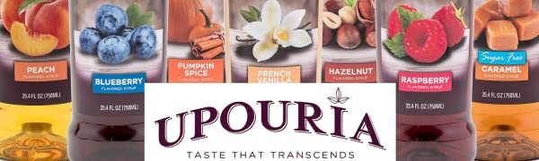 flavored syrups drinks hot cold coffee tea desserts sugar free gluten free natural flavors kosher