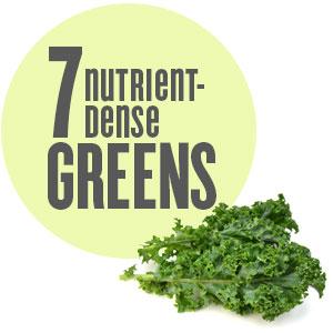 7 nutrient-dense greens