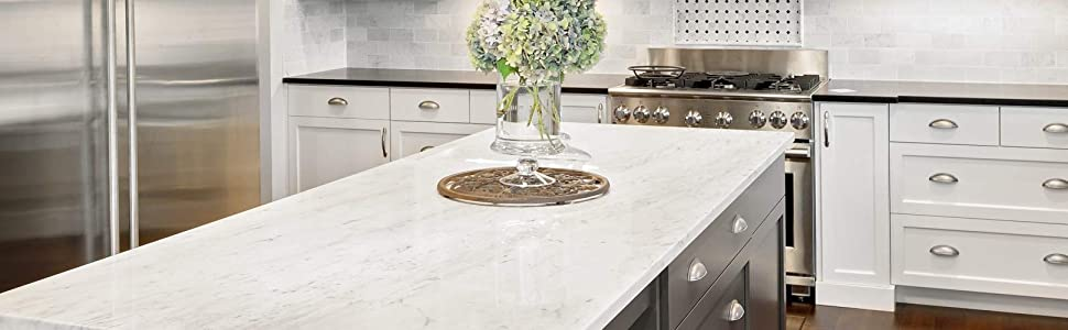 Transform your Counter tops to Marble Granite or Quartz