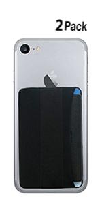 RFID Blocking Phone Grip Card Holder with Flip