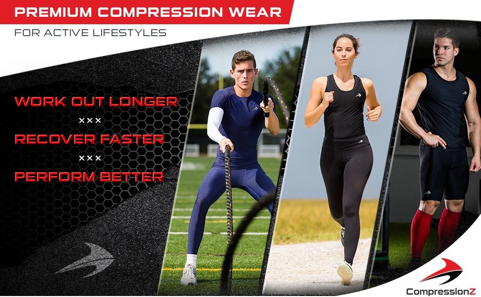 compressionz plantar fasciitis foot sleeve sock