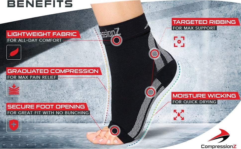plantar fasciitis sock pain relief