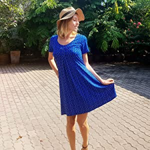 Nanakee Front Pleated Dress