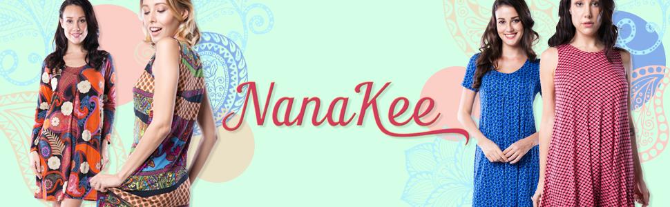 Nanakee Dresses Header Banner