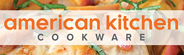 american kitchen cookware logo