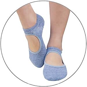 barre socks pack ballet dancing socks yoga non slip socks
