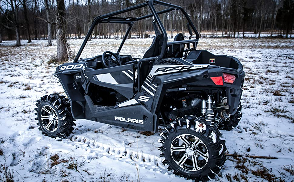 Polaris RZR 900 Rear Fender Flares