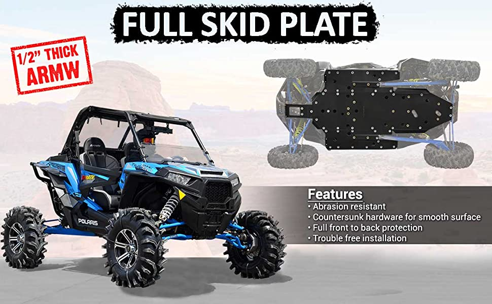 SuperATV ARMW Full Skid Plate