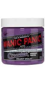velvet purple hair color