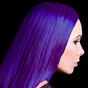 violet night hair color