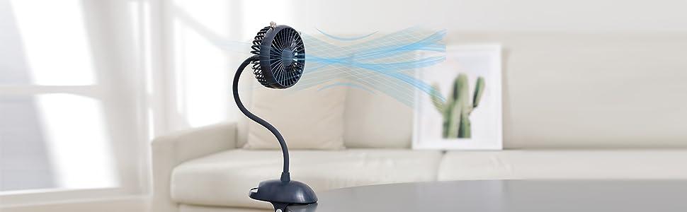 Zonsk Clip Fan
