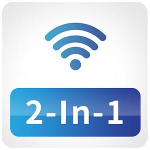 2-In-1 Wireless Modes