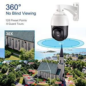pan/tilt/zoom security camera