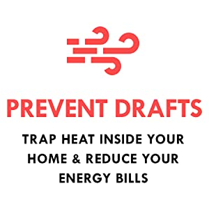 EZ fireplace door prevents cold drafts keeping reducing energy bills and keeping home warm in winter