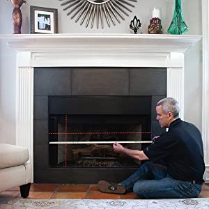 Measure Martin fireplace height and width for fireplace doors