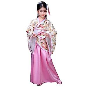 pink hanfu