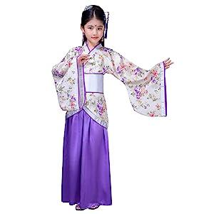 purple hanfu